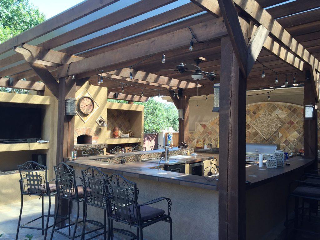 6 Desain Dapur Outdoor Minimalist